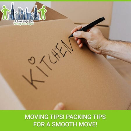 Moving Tips! Packing Tips For A Smooth Move!