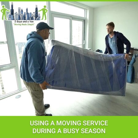 Using A Moving Service During A Busy Season