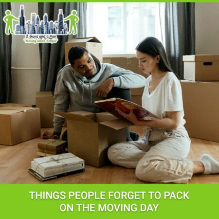 Things People Forget To Pack On The Moving Day