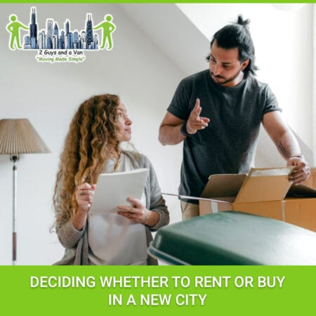 Deciding Whether To Rent Or Buy In A New City