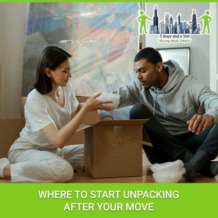 Where To Start Unpacking After Your Move