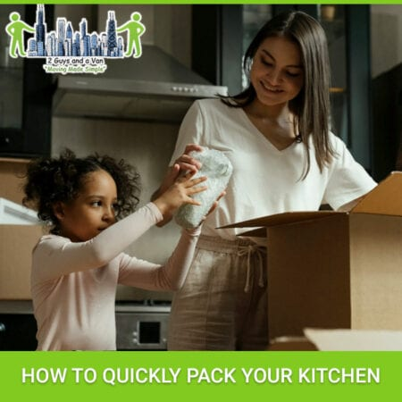 How To Quickly Pack Your Kitchen