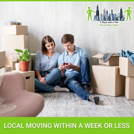 Local Moving Within A Week Or Less