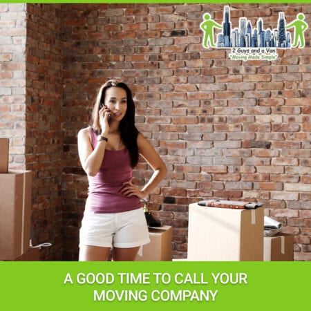 A Good Time To Call Your Moving Company