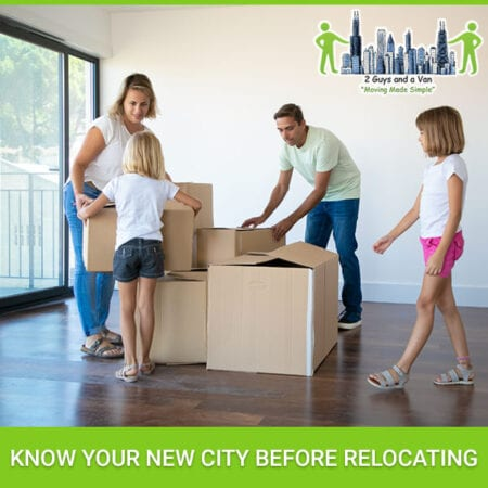 Know Your New City Before Relocating