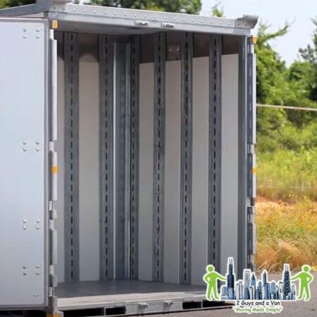 Load or unload PODS, U-PACK or ABF